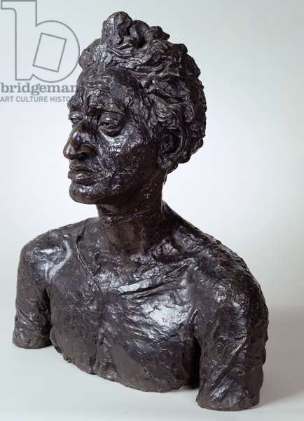 Bust of Jacob Kramer (1892-1962) (bronze)