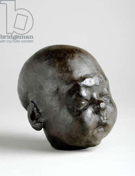 Baby Asleep, 1904 (wax)