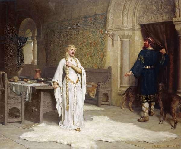 Lady Godiva, 1892 (oil on canvas)