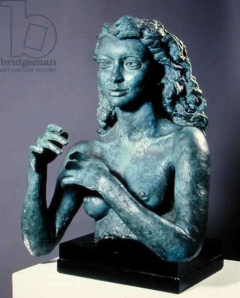 Deirdre (First portrait with arms), 1941 (bronze)