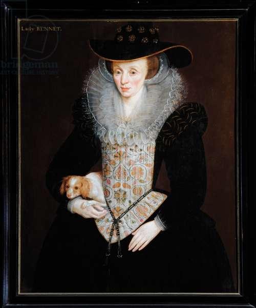 Lady Bennet, c.1509 (oil on board)