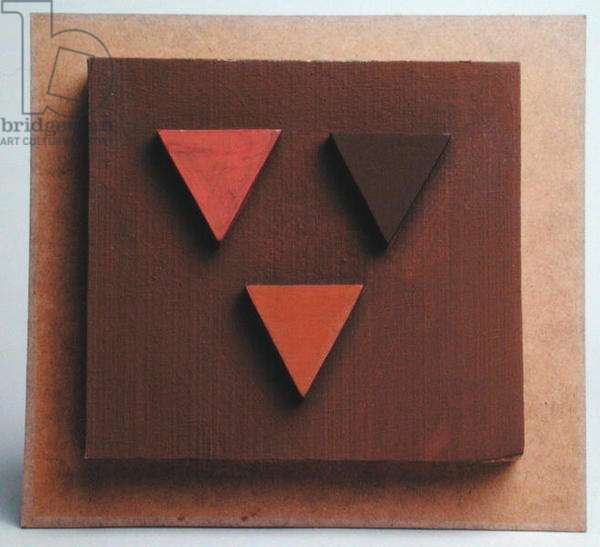 Relief, 1967 (wood collage)