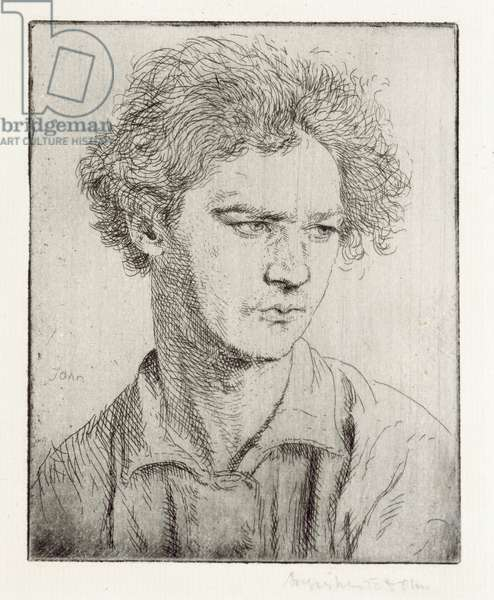 Jacob Epstein (etching)