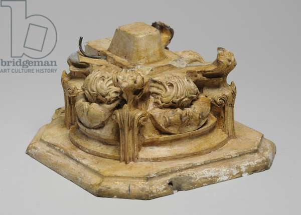 One of 9 maquettes for the Sam Wilson Chimneypiece, c.1908-14 (plaster & shellac)