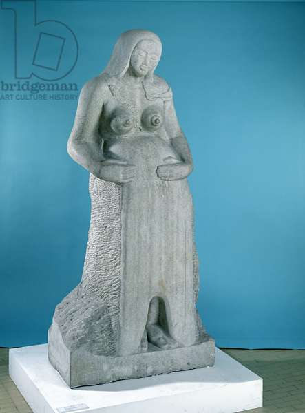 Maternity, 1910 (stone) (see 108846 for detail)