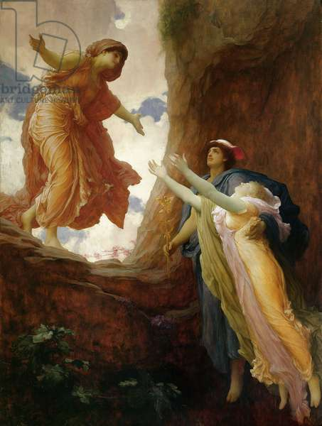 The Return of Persephone, c.1891 (oil on canvas)