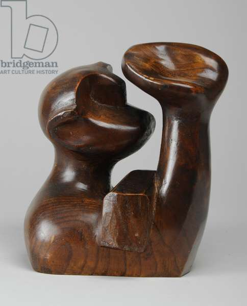 The Dreamer, 1937 (elm wood) (see also 876096)
