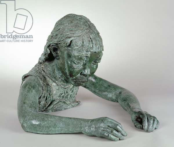 Portrait of Peggy Jean (The Sick Child), 1928 (bronze) (see also 440319-21)