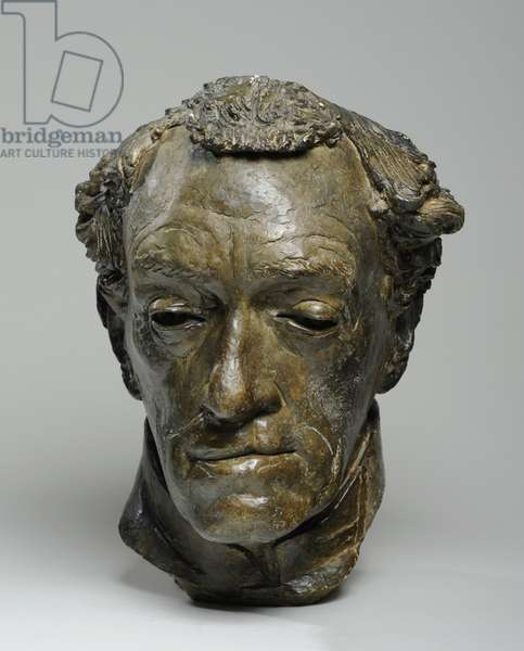 Bust of Reverend Conrad Noel, 1939 (plaster & shellac) (see also 876106-7)