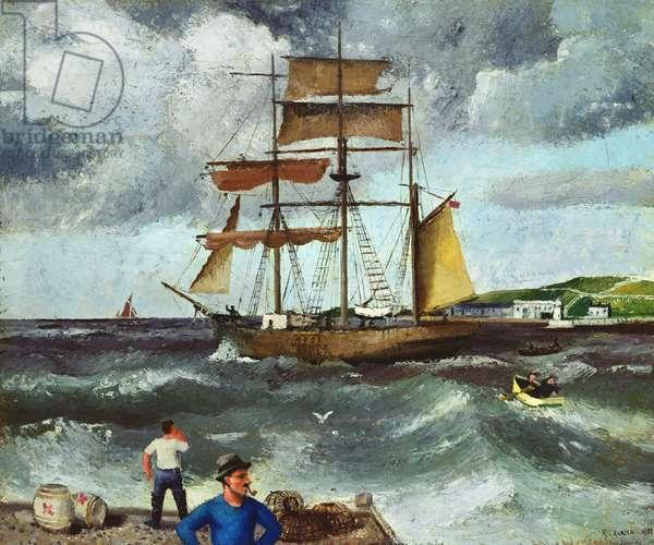 Winter Seascape, 1933 (oil on canvas)
