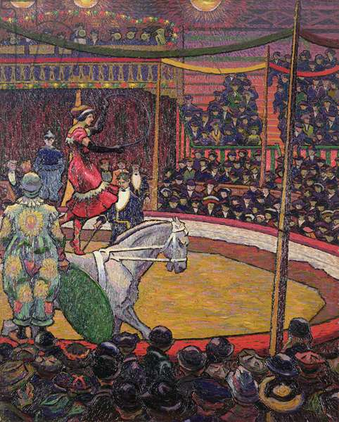 The Circus, c.1913 (oil on canvas)