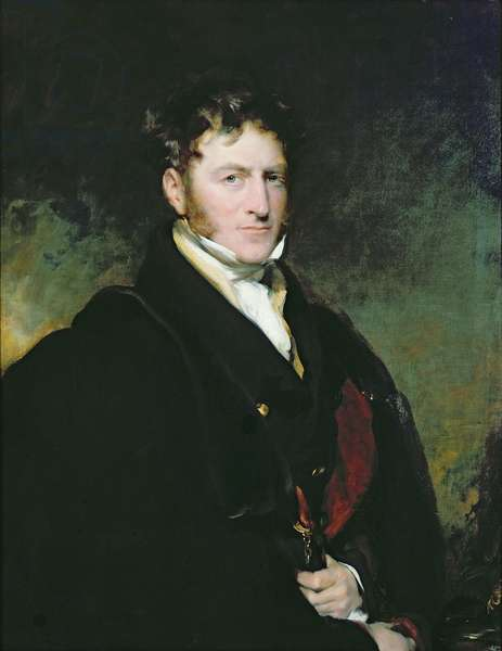 Portrait of Sir John Beckett (oil on canvas)