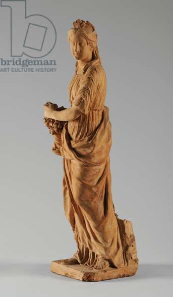 Maquette for a Figure of Abundance, 1753 (terracotta) (see also 876055-8)