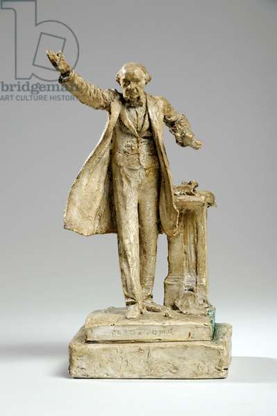 Maquette for the Statue of William Ewart Gladstone on the Strand, London, c.1905 (plaster)
