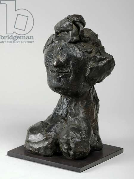 Smiling Head III (Smiling Woman), 1956 (bronze) (see also 876064-5)