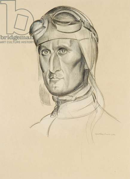 Wing Commander Orlebar, 1932 (pencil on paper)