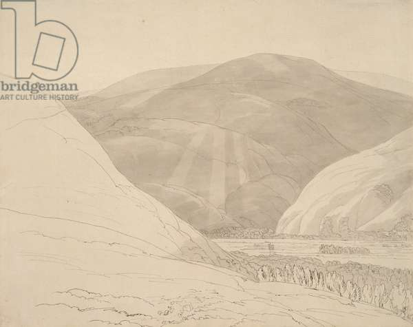 Croidon Hill, 1785 (pen & ink and wash)