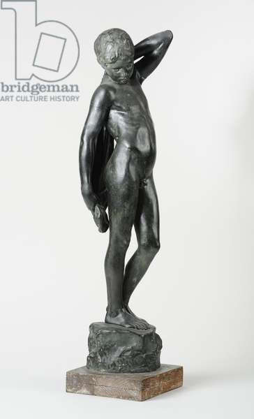 The Bather, 1898 (painted plaster) (see also 440215 & 440217)