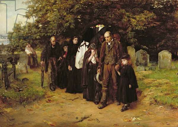 I am the Resurrection and the Life, or The Village Funeral, 1872 (oil on canvas)