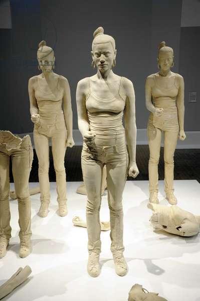 Rebekkah, 2012 (terracotta dyed plaster)