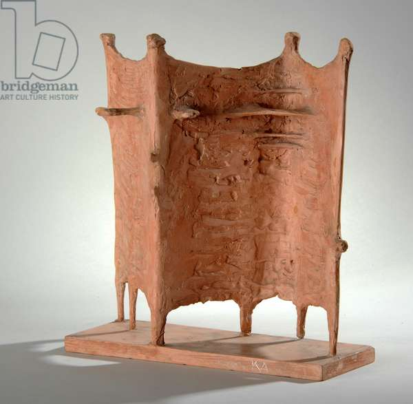 Maquette for Four Standing Figures, 1952 (pink plaster) (see also 876175-6)