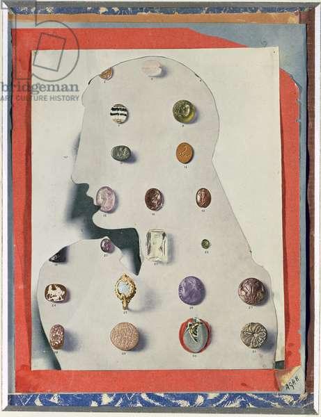 Precious Stones, 1936 (mixed media)