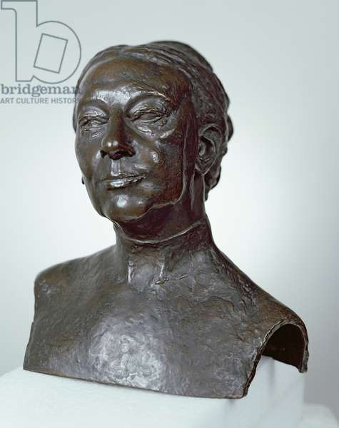 Bust of Lady Gregory (bronze)