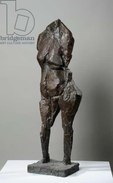 Standing Figure, 1957 (bronze)