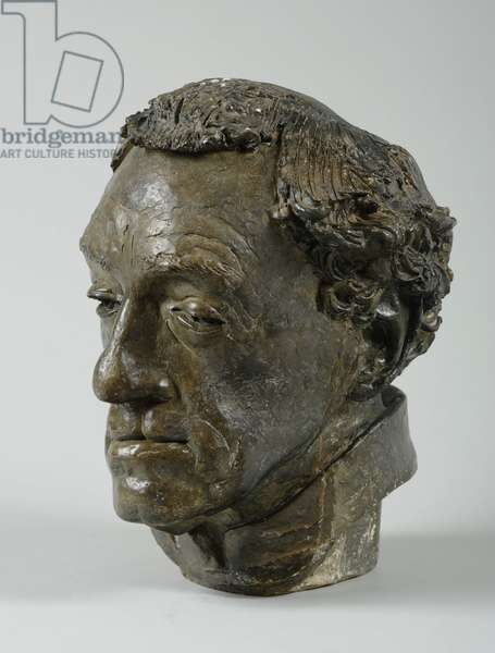 Bust of Reverend Conrad Noel, 1939 (plaster & shellac) (see also 876105-6)