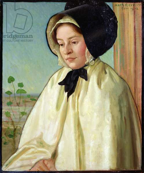 Portrait of Alice Irene Harvey, 1912 (oil on canvas)