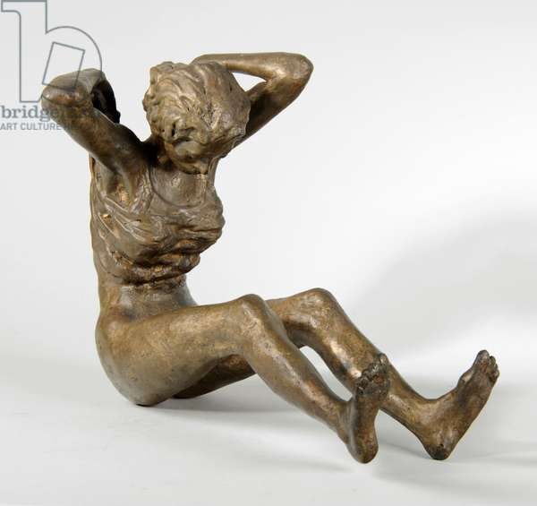 Woman Undressing, 1975 (bronze) (see also 876049-50)