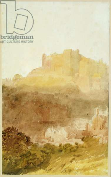 Durham Castle (w/c on paper)
