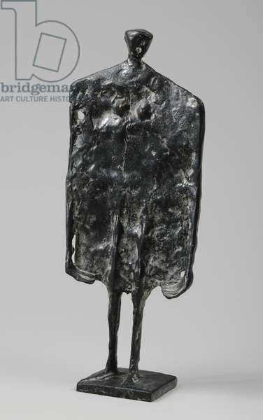 Flat Standing Figure, 1952 (bronze) (see also 876189)