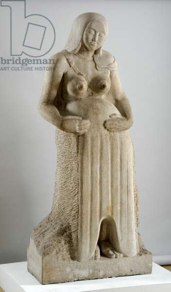 Maternity, 1910 (Hopton Wood stone)