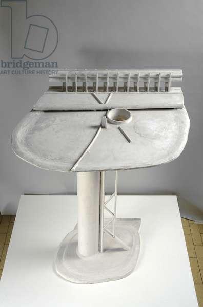Table I, 1976 (wood & plaster)
