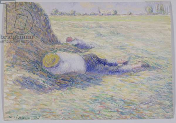 Midday Rest, 1887 (gouache on paper)