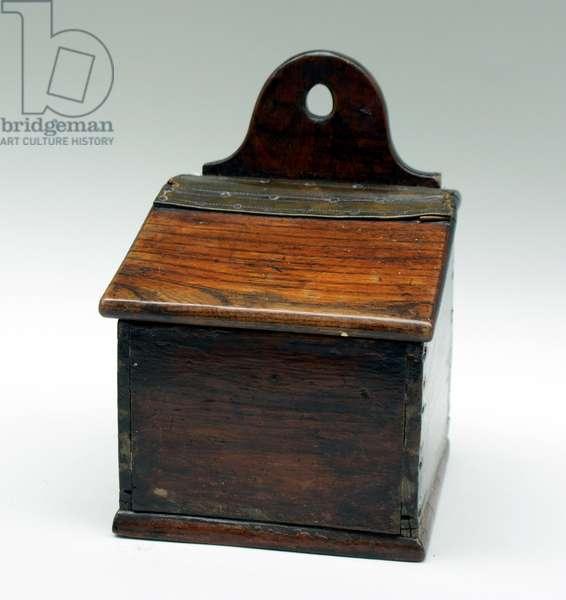 Salt box (elm)