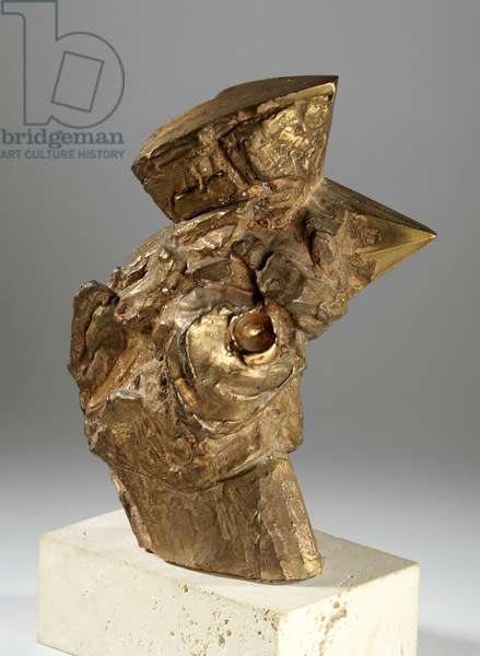 Maquette for Head of a Startled Bird, c.1955 (bronze) (see also 440238 & 440268-69)