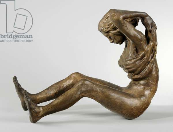 Woman Undressing, 1975 (bronze) (see also 876048-50)