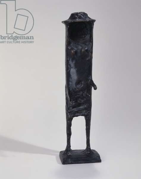 Girl without a Face, 1958-59 (bronze)