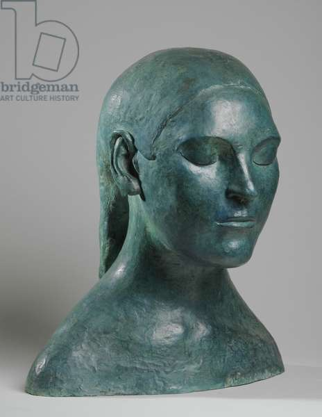 Bust of Marie Rankin, 1911 (bronze) (see also 876067-70)