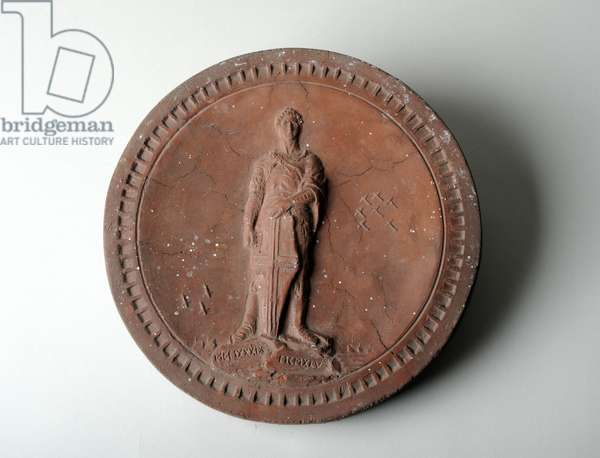 Medallion to the War of 1939-1945, c.1945 (coloured concrete)