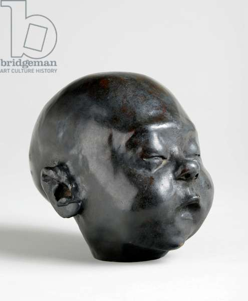 Baby Asleep, 1904 (bronze)