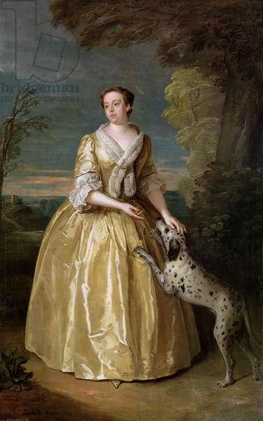 Portrait of Lady Jenkinson, 1742 (oil on canvas)
