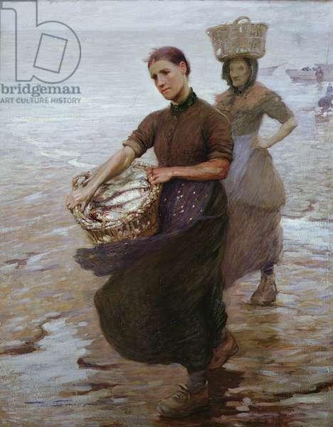 Toil (oil on canvas)
