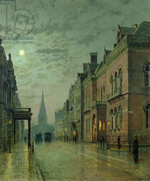 Park Row, Leeds, 1882 (oil on canvas)