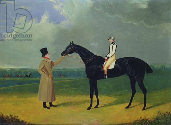 Jerry, Winner of the St. Leger 1824 (oil on canvas)