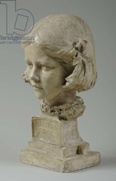 Bust of Elfrida Thornycroft, 1909 (plaster) (see also 876059-1)
