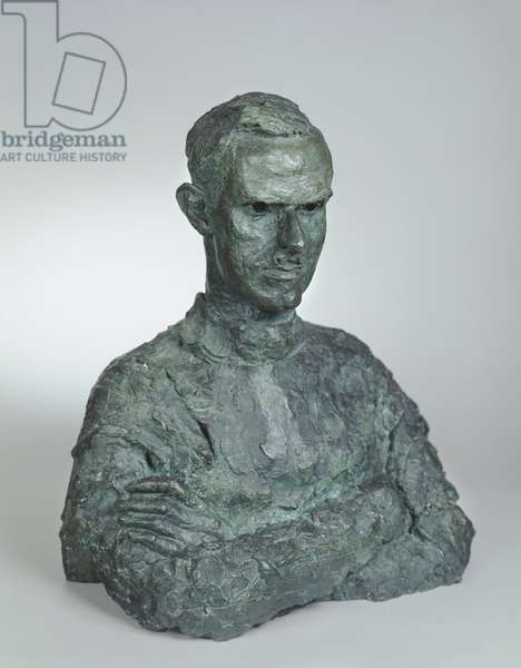 Bust of George Black (bronze)