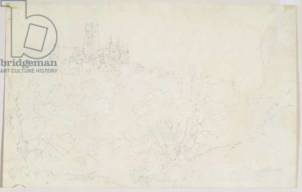 Durham, c.1801 (pencil on paper)